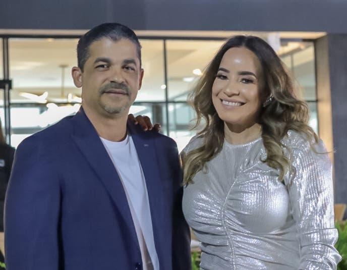 Giomani Pérez y Glacira Medina.
