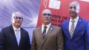 Marino Aybar, Philippe Jaurrey y Demetrio Almonte.