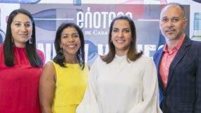 Katherine García, Wanda González, María Melo de Esteban y Amín Gutiérrez.
