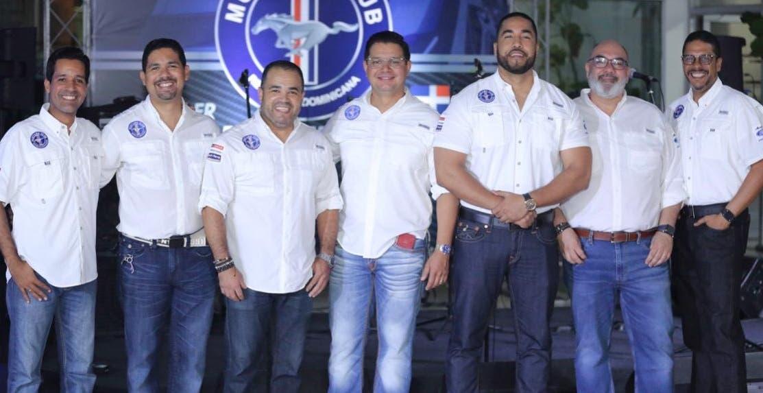 Los miembros del club durante la celebración.