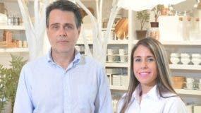 Alejandro González y Gina Alberty.
