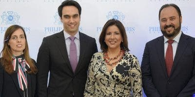 Lucila Wynen, Roberto Yunén, Margarita Cedeño y  Andrés Espinal.