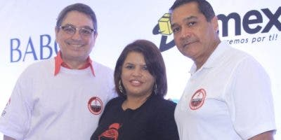 Carlos del Pino, Argelia Campusano y Ramón Del Rosario.