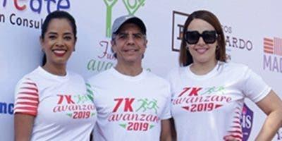 Delores Sánchez, Guillermo Rondón e Isaura Taveras.