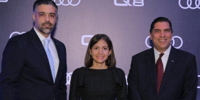 Alexander Gutiérrez, Carla Frías y Benjamín Paiewonsky.