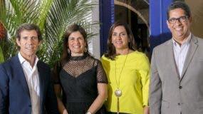 Javier Moro, Denisse Medina, María Melo de Esteban y Augusto Ramírez.