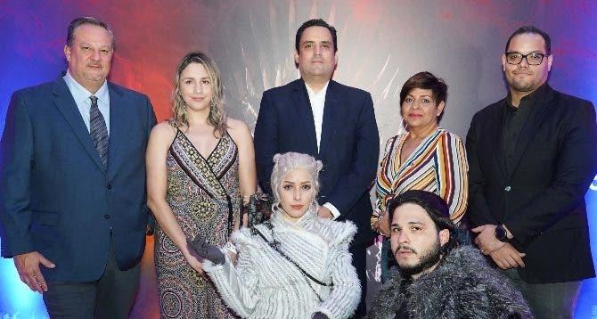 Humberto Anderson, Ariana Nuila, Danilo Ginebra, Soraida Soto y Manuel Mueses.