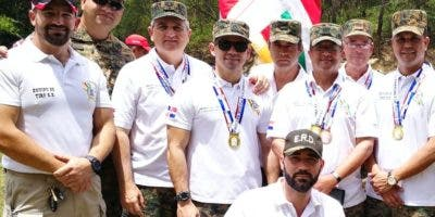 Integrantes del equipo tiradores Ejército.  fuente externa