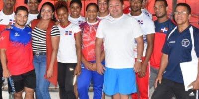 Parte de la delegación dominicana que competirá en el Panam Guatemala.   fuente externa