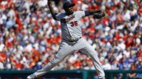 El dominicano Michael Pineda presenta gran avance como lanzador en esta nueva etapa.  AP