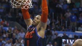 Russell Westbrook y sus Thunder esperan por Portland.  Ap