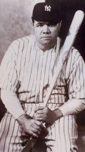 Babe Ruth, considerado de los mejores en la historia de GL.