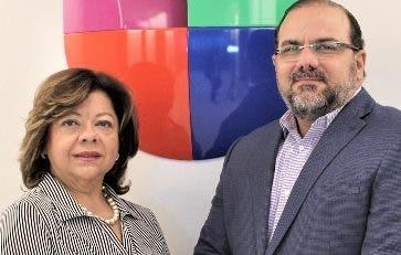 Ángela Moncayo-Yera  y Claudio Hirujo.