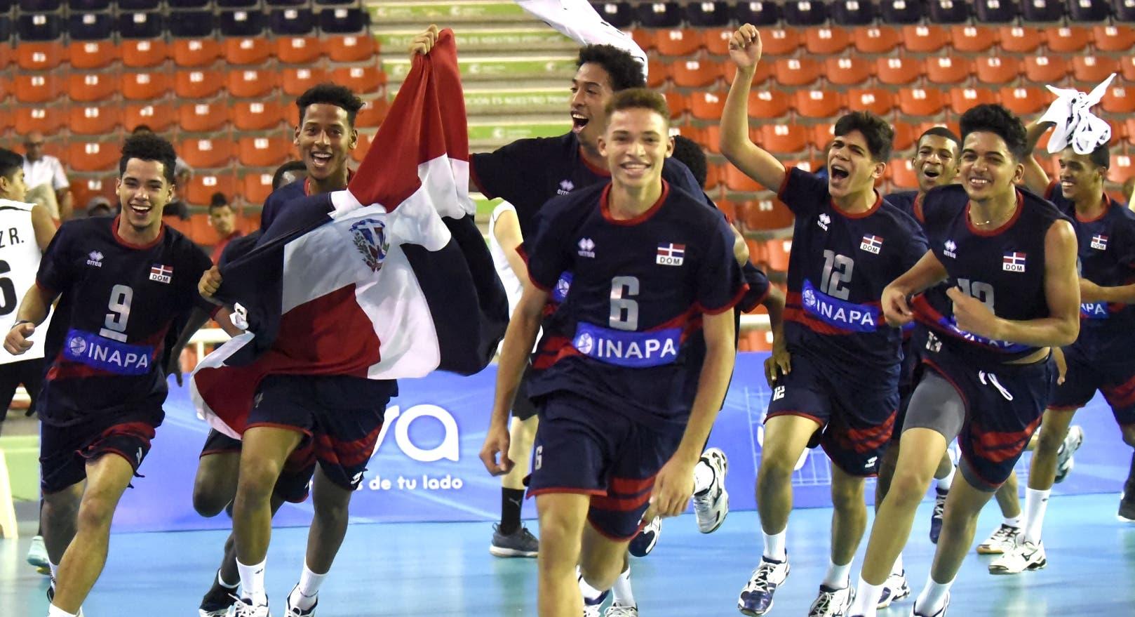 República Dominicana se impone a Chile; clasifica a Mundial de Voleibol