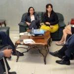Especialistas  durante entrevista con el director de EL DÍA, José P. Monegro. Jorge González