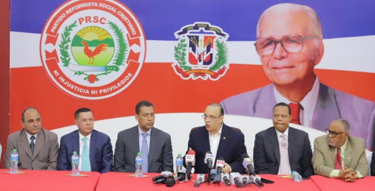 La facción de Guido Gómez  se reunió ayer con  el Partido Reformista Social Cristiano.