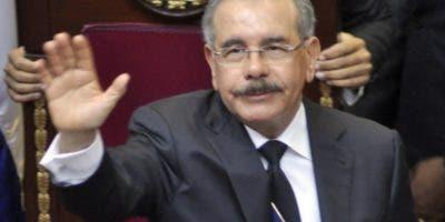 Danilo Medina  cuenta con 39%   de intención del voto. archivo.