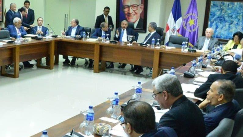 Reunión del Comité Político del PLD
