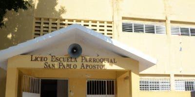 La escuela de La 40   en el sector de Cristo Rey  tiene alumnos de inicial.  José de León
