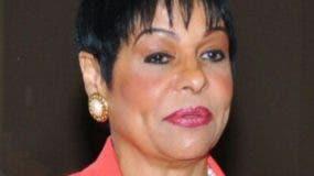 Celeste Silié, funcionaria Ministerio de Economía.