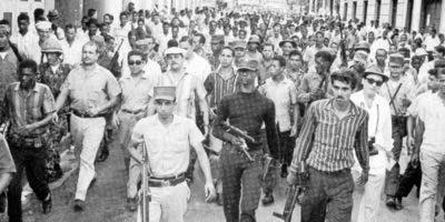 El coronel Francisco Alberto Caamaño fue el principal cabecilla del movimiento que exigía respetar la Constitución.