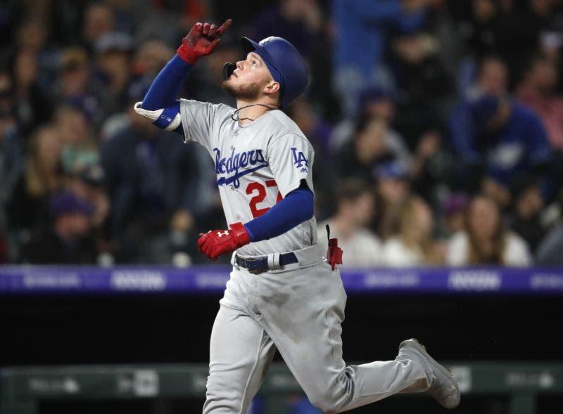 Dodgers jonronean para derrotar a Rockies 7-2