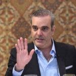 Luis Abinader, dirigente del PRM.  archivo
