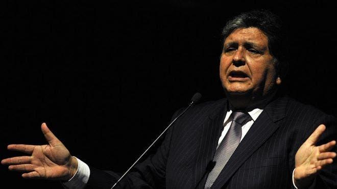 Alan García fue presidente de Perú durante dos mandatos.