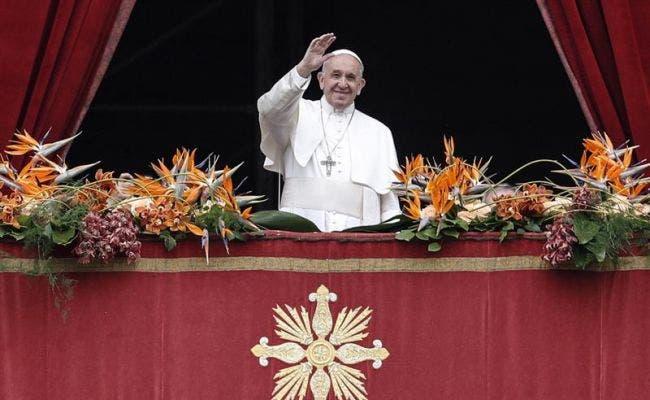 El pontífice ofreció su mensaje de Pascua desde la logia central de la basílica de San Pedro del Vaticano y lo centró en la importancia de garantizar la paz en el mundo.