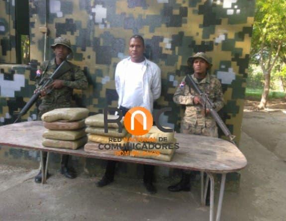 Ejército ocupa 11 pacas de marihuana en San Juan de la Maguana