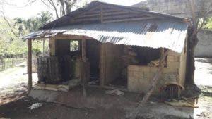 La estudiante de 25 años de edad fue hallada en esta vivienda en La Vega.