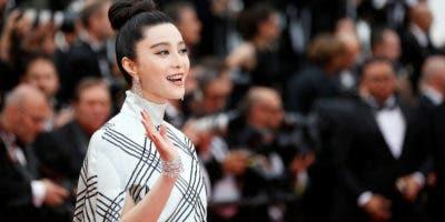 actriz Fan Bingbing, una de las estrellas más populares y mejor pagadas de China.