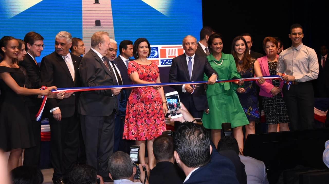 Presidente Danilo Medina inaugura la Feria Internacional del Libro 2019