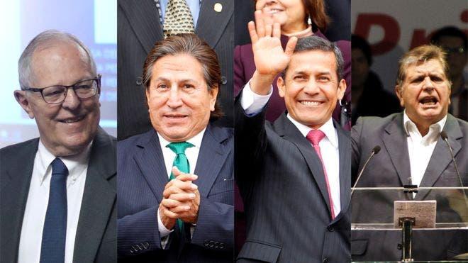 Escándalo de corrupción Odebrecht pone ante la Justicia a los últimos cuatro presidentes de Perú