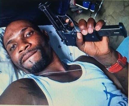 Vodre Celicourt, uno de los haitianos miembros de la banda de asaltantes, según la Policía.