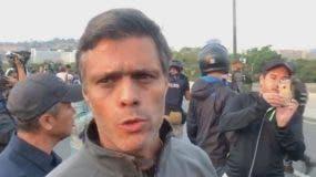 Leopoldo López.EFE