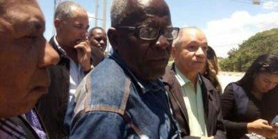 Héctor Puello delegado de la Conferederación  de Sindicato de Trabajadores del Consorcio Punta Catalina