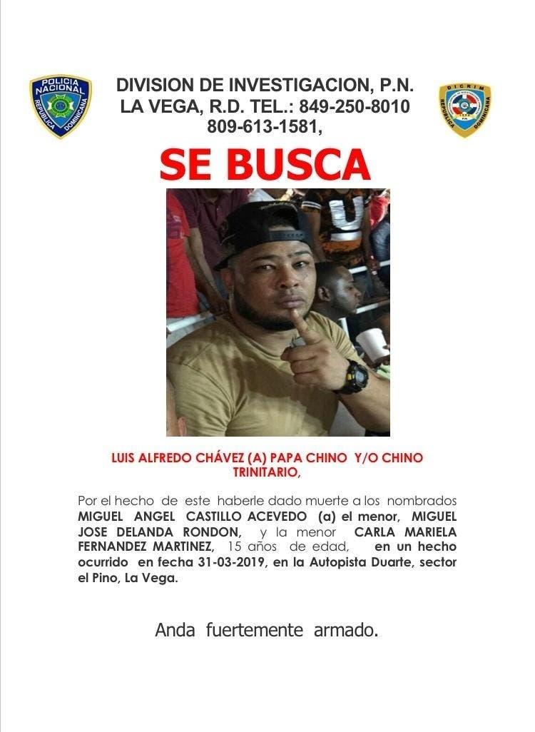 La Policía identifica a uno de los implicados en el triple asesinato de La Vega