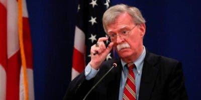 El asesor de Seguridad Nacional de Estados Unidos, John Bolton.
