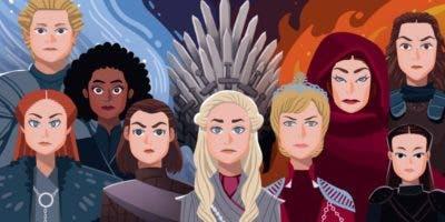 Las mujeres de Poniente cobraron fuerza en la serie en las últimas temporadas.