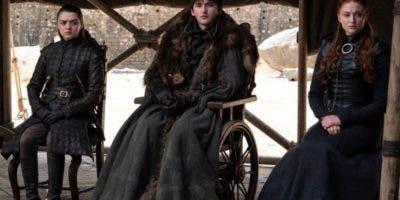 Los personajes de Arya, Bran y Sansa Stark mucho crecieron en estos años, tanto dentro como fuera de la pantalla.