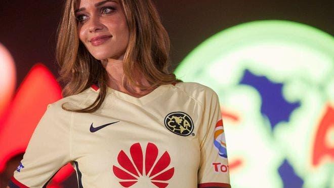 El América de México es uno de los equipos patrocinados por Huawei.