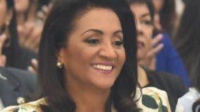 La primera dama  Cándida Montilla  acudió al evento.