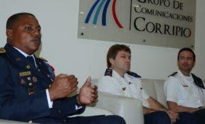 José Luis Frómeta Herasme durante su disertación  en el Almuerzo del Grupo Corripio