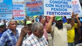 Miles de trabajadores volvieron a marchar. Carolina Fernández