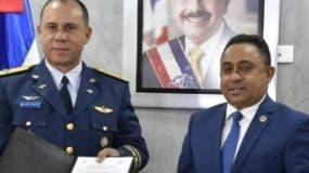 Richard Vázquez Jiménez y Mayobanex Escoto.