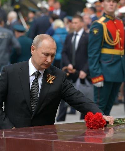Vladimir Putin celebró ayer el Día de la Victoria.