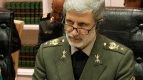 El ministro de Defensa, Amir Hatamí, rechaza sanciones.