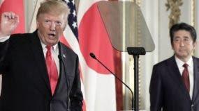 Donald Trump y Shinzo Abe buscan un entendimiento comercial entre ambos países.