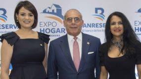 Mirjan Abreu, Emilio Hasbún y Susy Gatón.